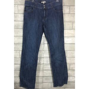 Cabi straight leg jeans Size 12 Style #347